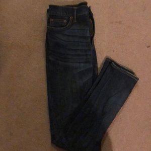 NWT J. Crew distressed skinny jeans